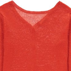 Hartford Muguet Linen Jumper with Back Buttons-product