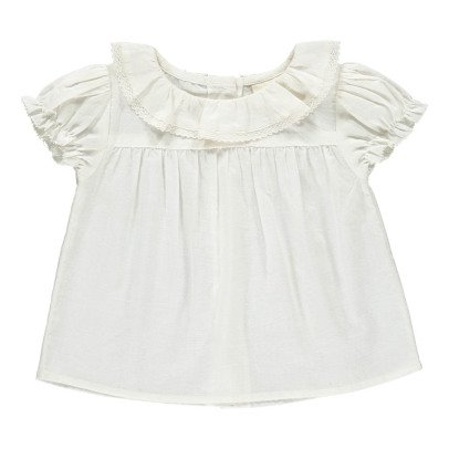 Louis Louise Apricot Collar Blouse -product