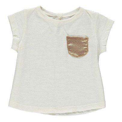Louis Louise T-shirt Poche Dorée Anaé-listing