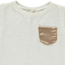 Louis Louise Anaé Gold Pocket T-Shirt-product