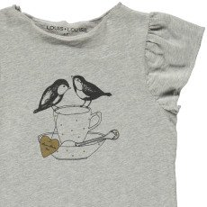 Louis Louise Butterfly Bird T-Shirt-product