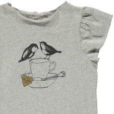 Louis Louise T-shirt Oiseaux Papillon-listing