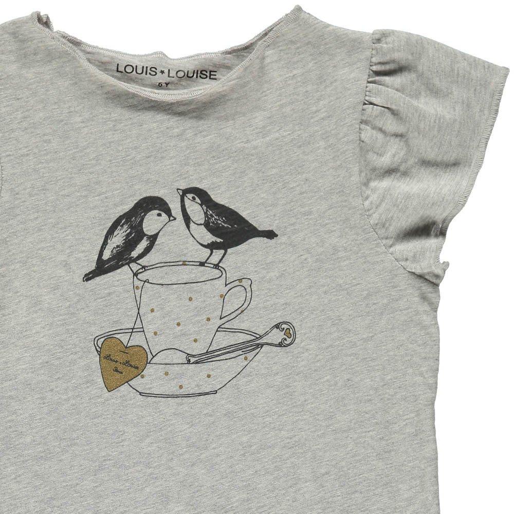 Louis Louise Butterfly Bird T-Shirt-product