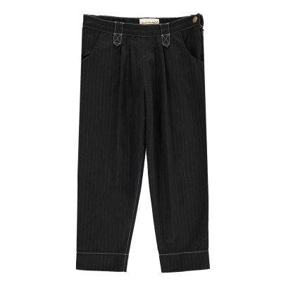 April Showers Pantalon Chevrons Amber Noir-product