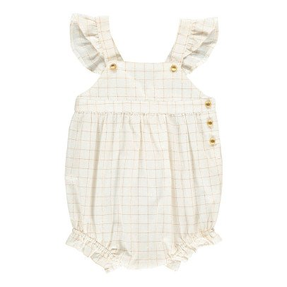 Louis Louise Olympus Lurex Checked Romper-product