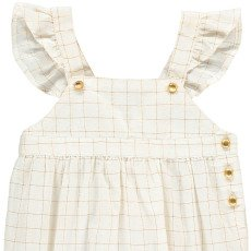 Louis Louise Olympus Lurex Checked Romper-listing