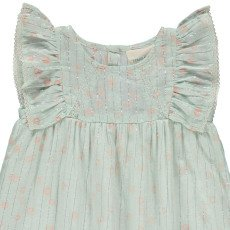 Louis Louise Pompadour Lurex Striped Dress -listing