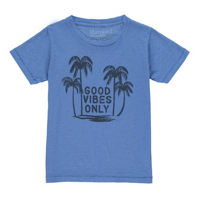 """Hartford T-shirt Palmiers """"Good Vibes Only""""-listing"""