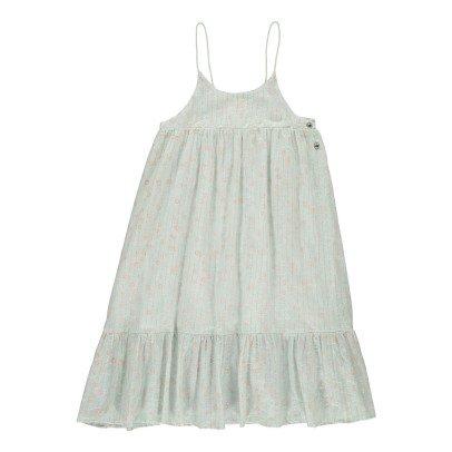 Louis Louise Leonie Lurex Striped Long Dress -listing