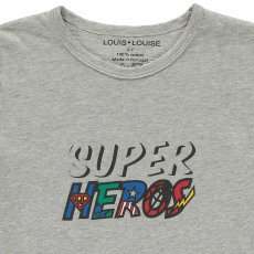 Louis Louise T-shirt Super Héros Tom-listing