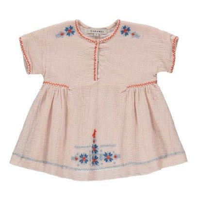 Caramel besticktes kleid Dandelion-listing