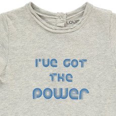 "Louis Louise Toto ""I've got the power"" Playsuit-product"