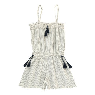 Louis Louise Goa Striped Playsuit-listing