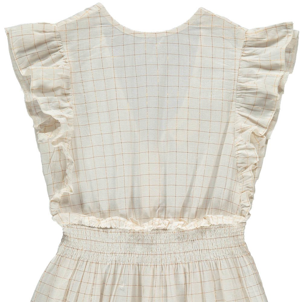 Louis Louise Blanchette Checked Lurex Dress-product