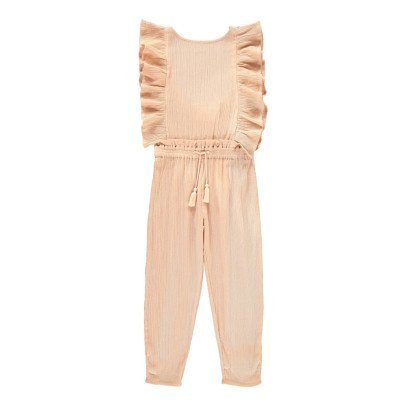 Louis Louise Lorenzana Cotton Crepe Ruffle Jumpsuit-product