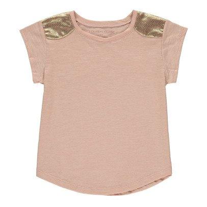 Louis Louise T-shirt Epaules Dorées Anaïs-listing