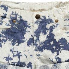 Louis Louise Aria Tie Dye Denim Shorts-product