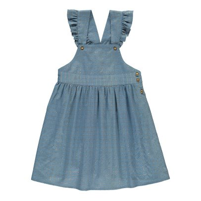 Louis Louise Alexandra Lurex Checked Dress -product