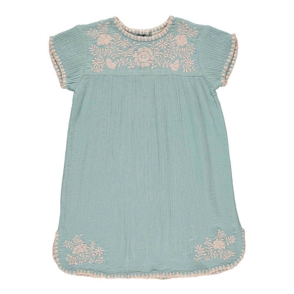 Noémie Embroidered Cotton Crepe Dress-product