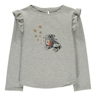 Louis Louise Mia Rollerblade Ruffle Sweatshirt-product