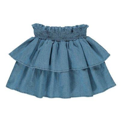 Louis Louise Hello Chambray Ruffle Skirt-product