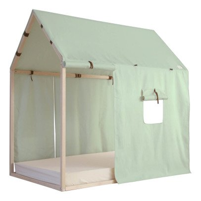 "Nobodinoz Bett ""Hütte "" Mallorca 96x150 cm-listing"