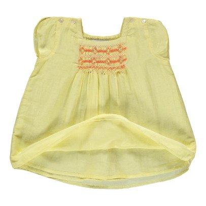 Caramel Babykleid Luffa -listing