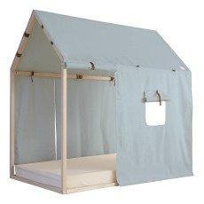"product-Nobodinoz Bett ""Hütte "" Mallorca 96x150 cm"