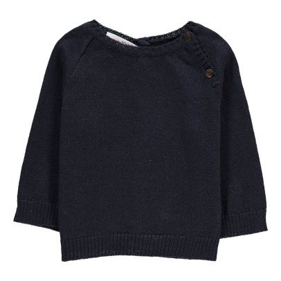 Pequeno Tocon Shoulder Button Jumper-listing
