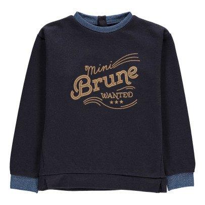 Blune Kids Mini Brunette Sweatshirt Midnight blue-listing