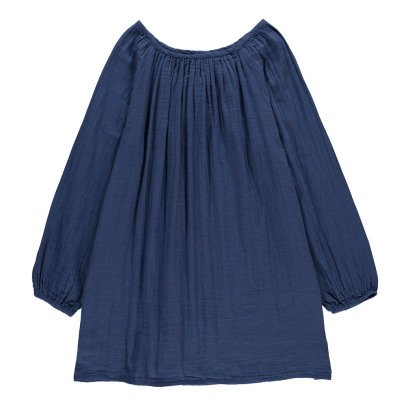 Numero 74 Kurzes Kleid Nina- Teenager-und Damenkollektion- Dunkelblau -product