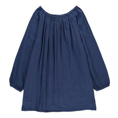 Numero 74 Vestido Corto Nina - Vestido Largo Nina - Colección Joven y Mujer - Azul Marino -product