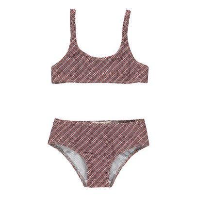 Caramel Tarwi Checked Bikini-product