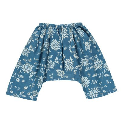 Caramel Nori Floral Harem Trousers-listing