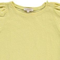 Caramel T-Shirt Cotone Lino Spinach-listing