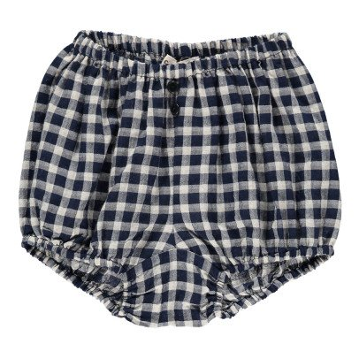 Caramel Olive Checked Bloomers-listing