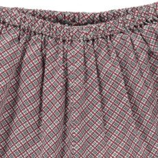 Caramel Arame Checked Harem Trousers-listing