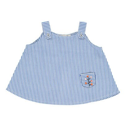 Caramel Bamboo Striped Top-product