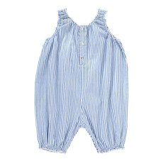 product-Caramel Onion Striped Romper