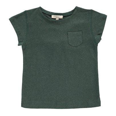 Caramel T-Shirt Lino Cotone Avocado-listing