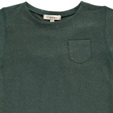 Caramel Camiseta Lino Algodón Rayas Avocado-listing
