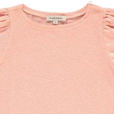 Caramel Spinach Cotton Linen T-Shirt-product