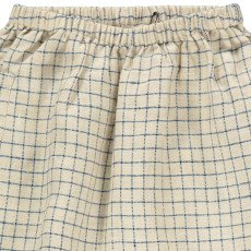 Caramel Azuki Cotton Linen Harem Trousers-product