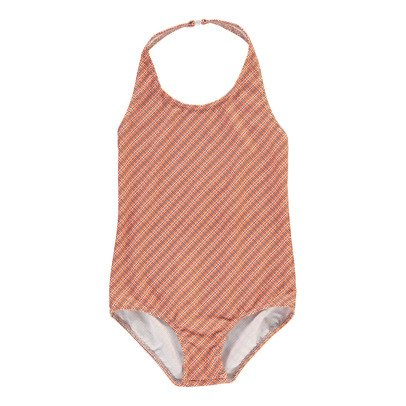 Caramel Sugarsnap Checked 1 Piece Swimsuit-listing