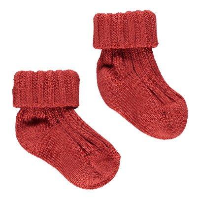 Caramel Ribbed Socks-product