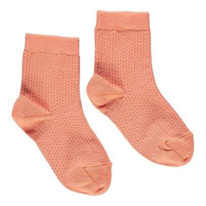 Caramel Socken mit Punkten -listing