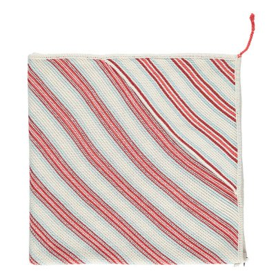 Oeuf NYC Striped Knit Blanket-product