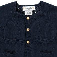 Les lutins Eva Short Sleeve Cardigan-listing