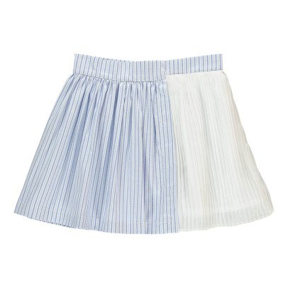 No Added Sugar Meet You There Striped Asymetric Skirt-listing
