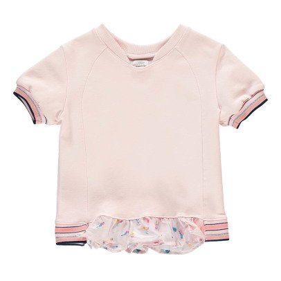 No Added Sugar Self Centred Short Sleeved Frilly Sweatshirt-listing